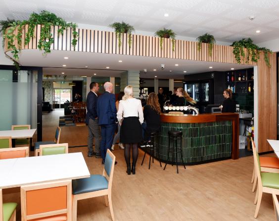 Bar area at The Homestead Restaurant