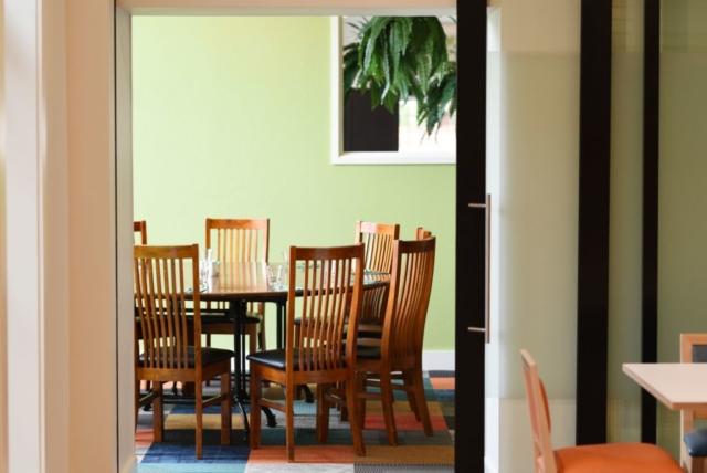 Dining table at The Homestead Restaurant Invercargill